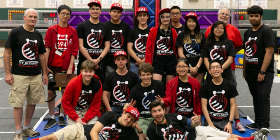 StuyPulse at Indiana Robotics Invitational!