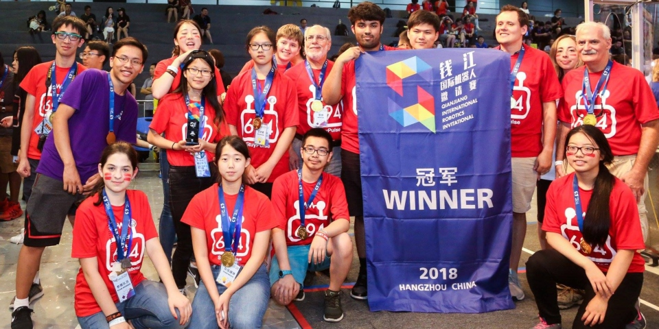 StuyPulse at China's Robotics Competition in Hangzhou, China!
