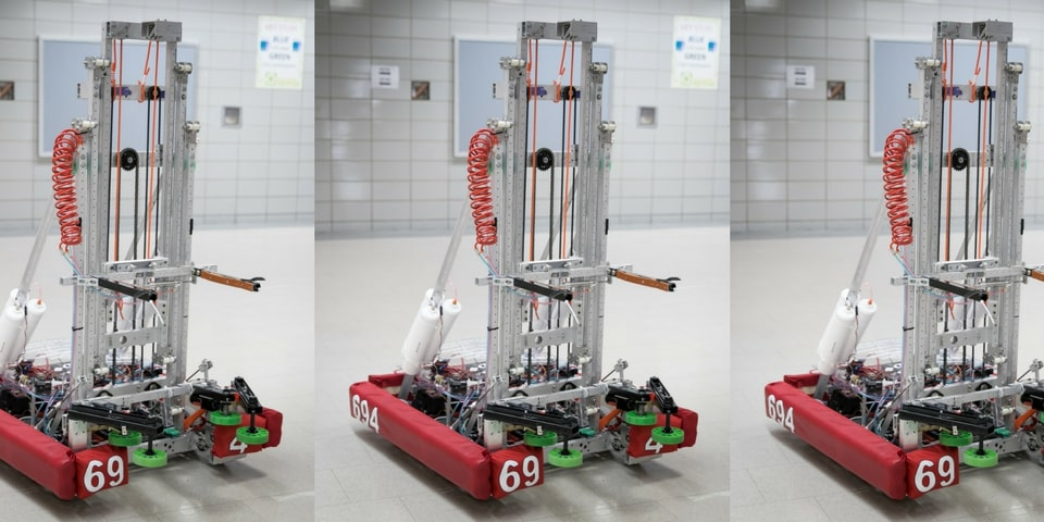 This year's robot, Wildcard!